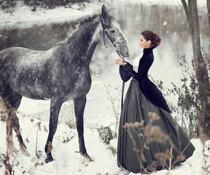 horse, fantasy, and photography image