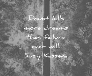 don't give up, Dream, and doubt image