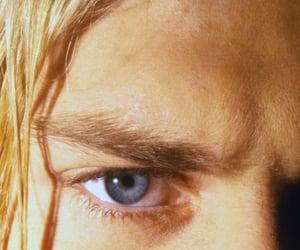 kurt cobain, nirvana, and blue eyes image