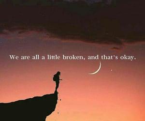 broke, qotd, and life image