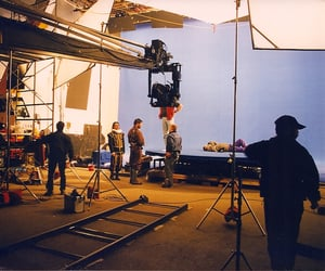 acting, film set, and on set image