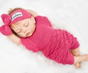 etsy, personalized outfit, and newborn girl outfit image