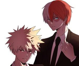 anime, my hero academia, and todoroki shoto image