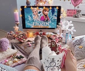 frozen, christmas, and disney image