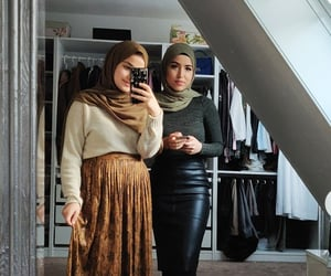 brown, closet, and cool image