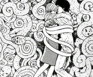 uzumaki, horror, and hug image