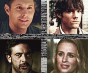 dean, Jensen Ackles, and sam winchester image