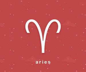aries, beautiful, and horoscope image