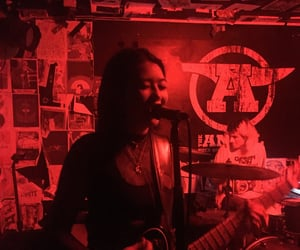 bea, gig, and red image