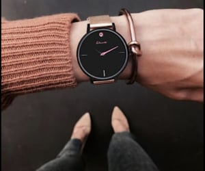 accessories, beauty, and fall image