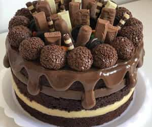 cake, cakes, and chocolate image