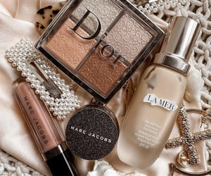 beauty, dior, and eyeshadow image