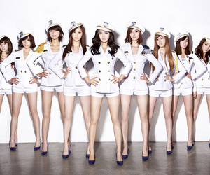girl group, girls generation, and k-pop image