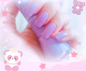 candy, nail, and cute image