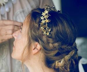 boda, trenza, and cabello image