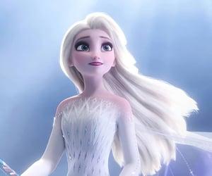 elsa, frozen 2, and disney image