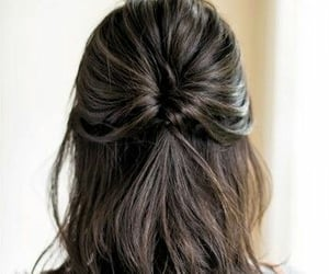 brown, corte, and trenza image