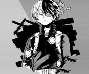 anime, grey, and wallpaper image