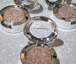 makeup, glitter, and mac image