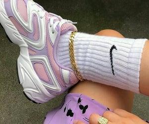lilac, nike, and purple image