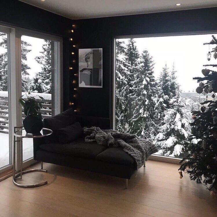 winter, interior, and snow image