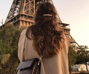 hair, fashion, and paris image
