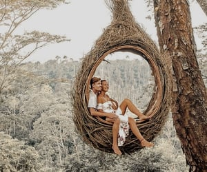 bali, couple, and holidays image