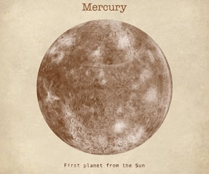 aliens, planets, and mercury image