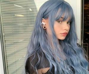 blue, fashion, and gray image