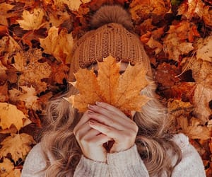 autum, brown, and cozy image
