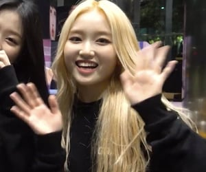 loona, park chaewon, and gowon image
