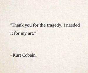 art, book, and kurt cobain image