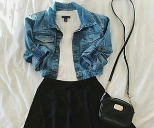 clothes, dress, and look image