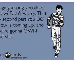 funny, song, and lol image
