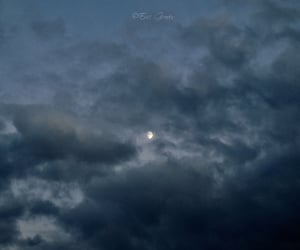 clouds, dusk, and evening image