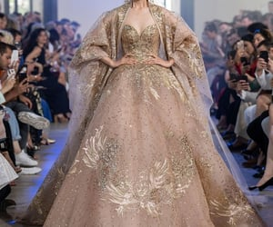 Couture, model, and dress image