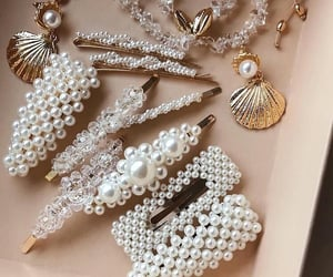 fashion, accessories, and pearls image