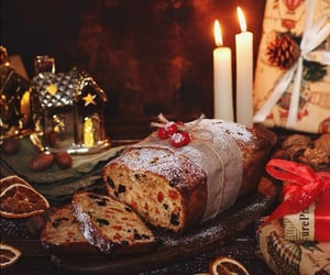 food, christmas, and dessert image