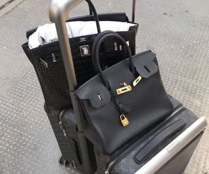 luxury, bag, and black image