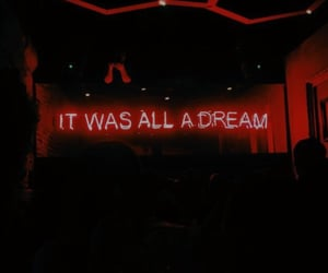red, aesthetic, and Dream image