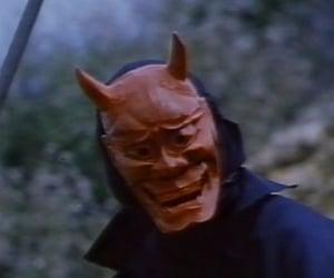 demon and mask image