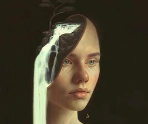 girls and art image