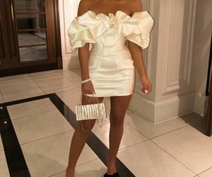 dress, classy rich glam, and fashion image