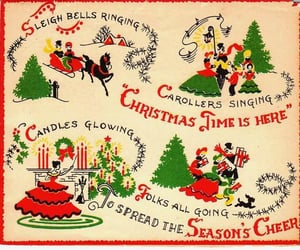 art, merry christmas, and christmas spirit image