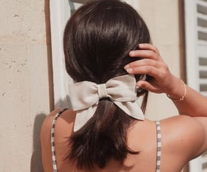bow, pretty, and style image