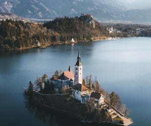 travel, nature, and slovenia image