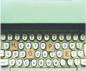 hope and typewriter image