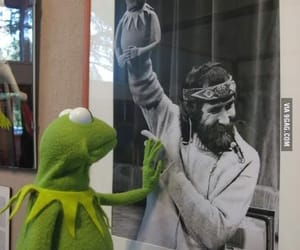 Jim Henson, kermit, and the muppets image