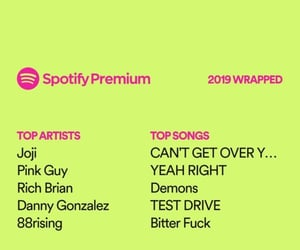 spotify, 2019, and spotifywrapps image