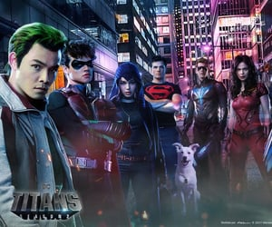 DC, titans, and titans dc image